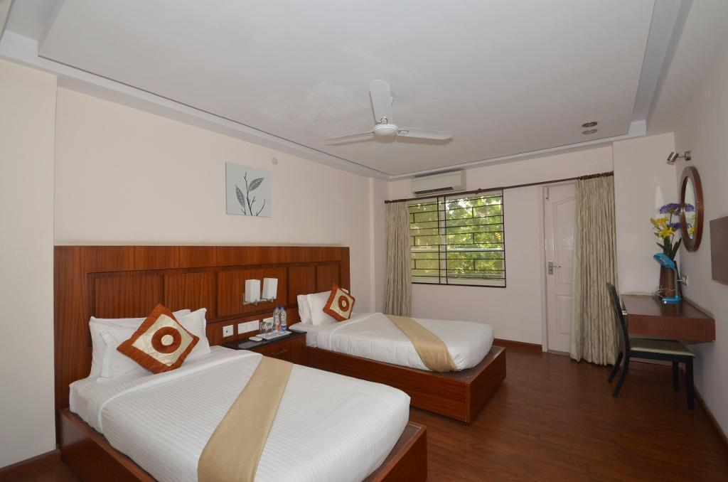 Service apartments in Bommasandra, Bangalore | Master Bedroom