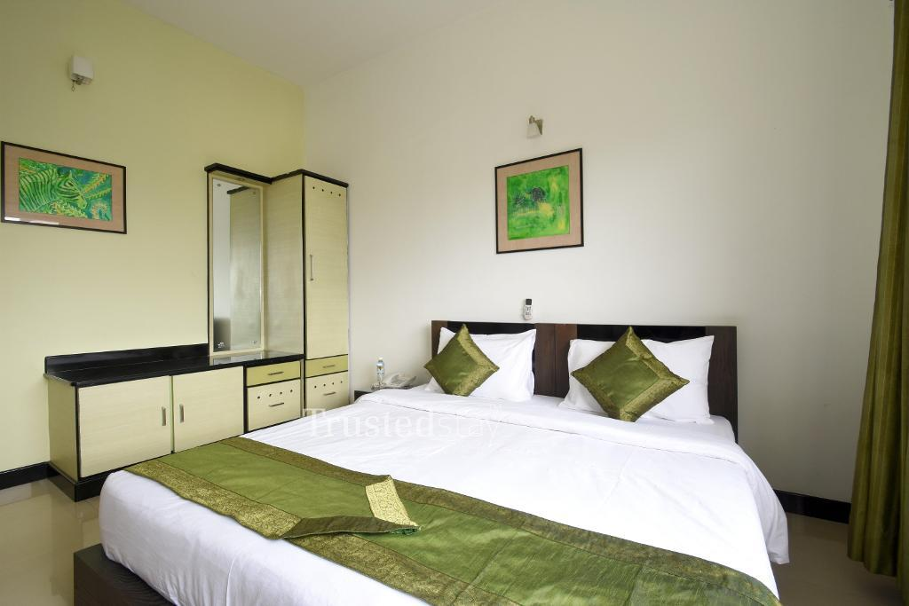 Bed room view |  Fully furnished Service apartments in Bangalore