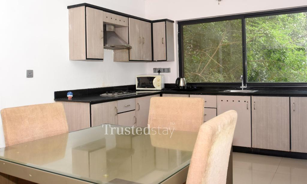 kitchen | Service apartments in Indiranagar