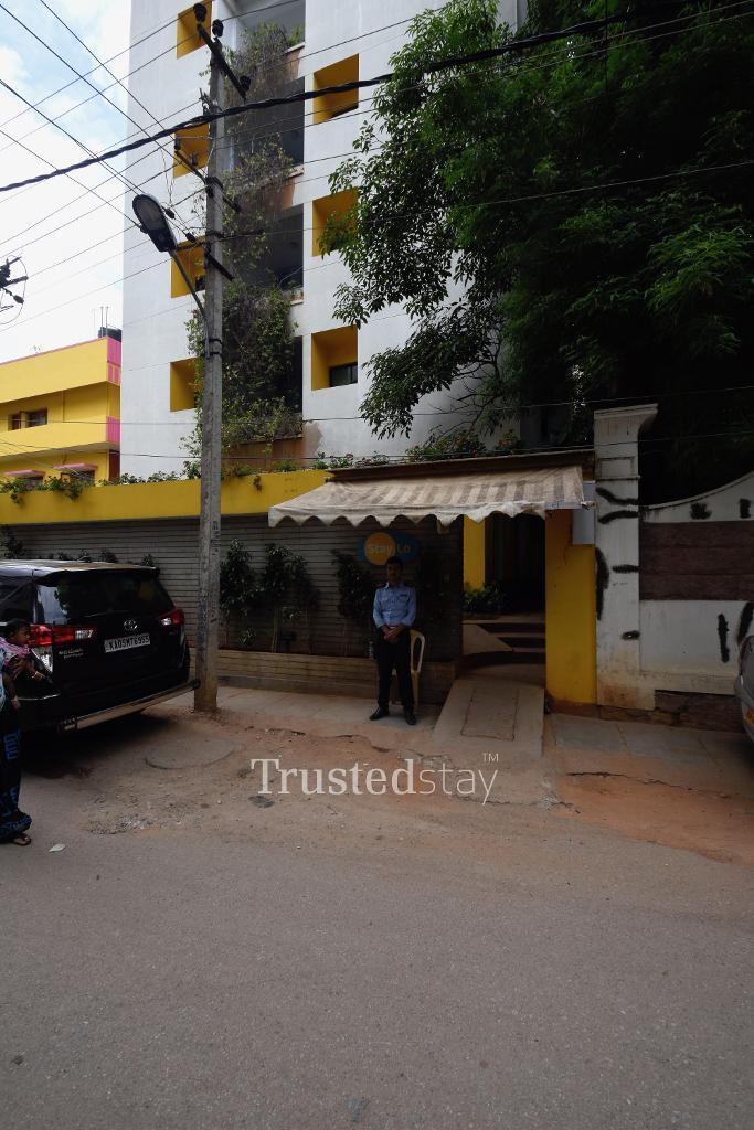 Exterior view Bangalore Serviced apartments