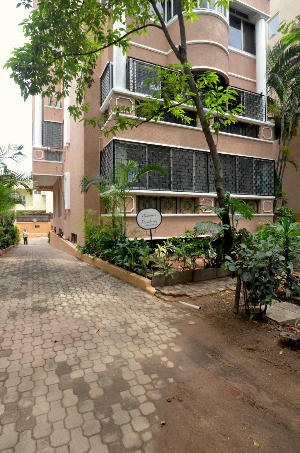Bangalore serviced apartments in Langford Town | Exterior view