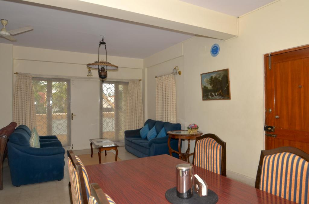 Dining area | Service Apartments in Langford Town, Bangalore
