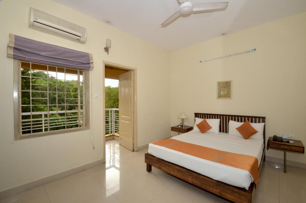 serviced apartments in Bangalore | Master Bedroom