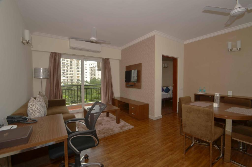 Exterior view | Service apartment is in Whitefield, Bangalore
