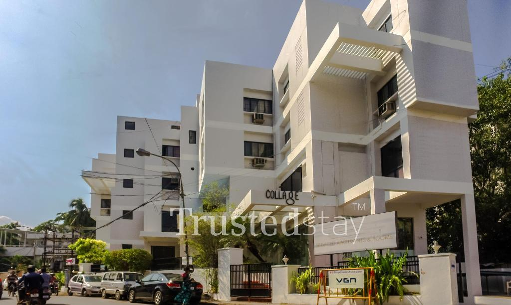 Exterior view | Fully Furnished Service Apartments in chennai