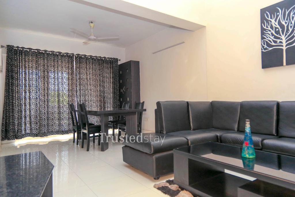 Dining area | Service apartment Chennai