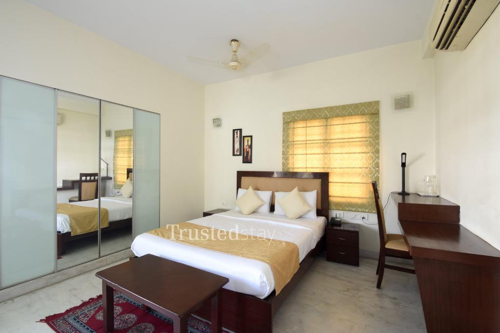 Chennai service apartments | Bedroom two