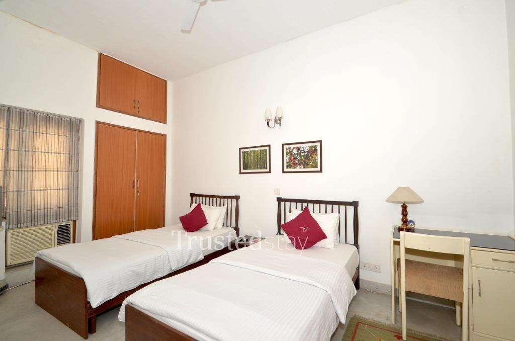 Bed room | stay at Greater Kailash, New Delhi