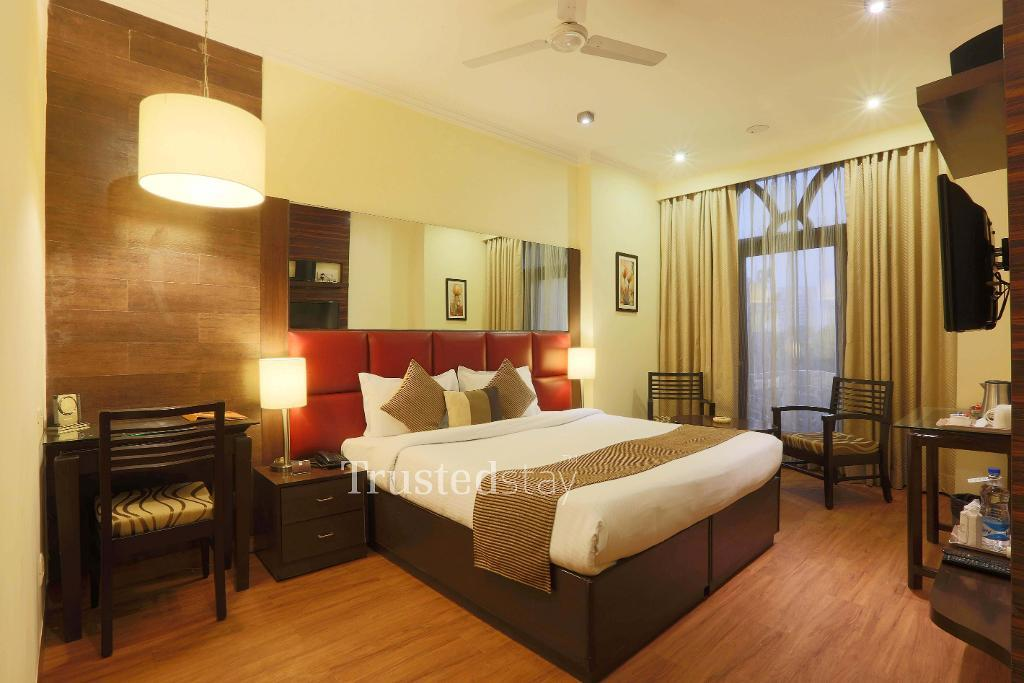 Bedroom view | Service apartments in Gurgaon