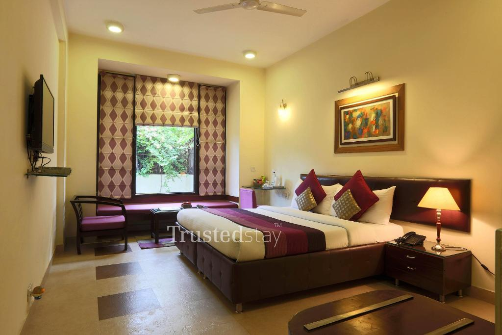 Master Bedroom | serviced apartments in Gurgaon