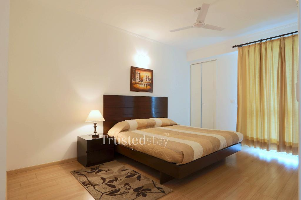 Bedroom two | Fully Furnished Service Apartments in Gurgaon