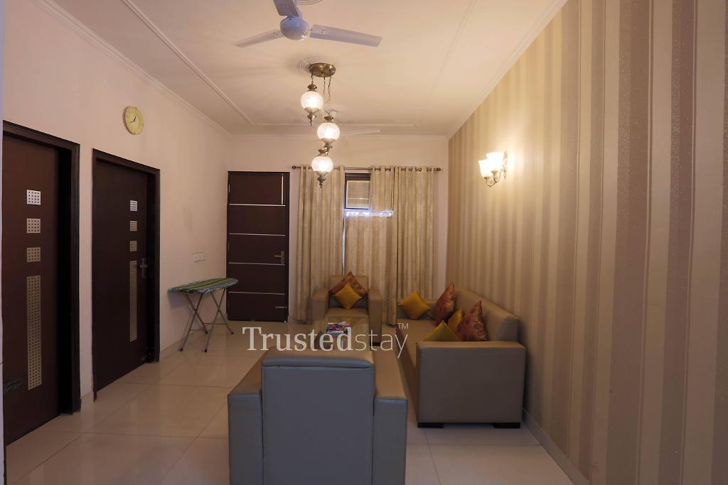 Living area | Serviced Apartment in Delhi-NCR