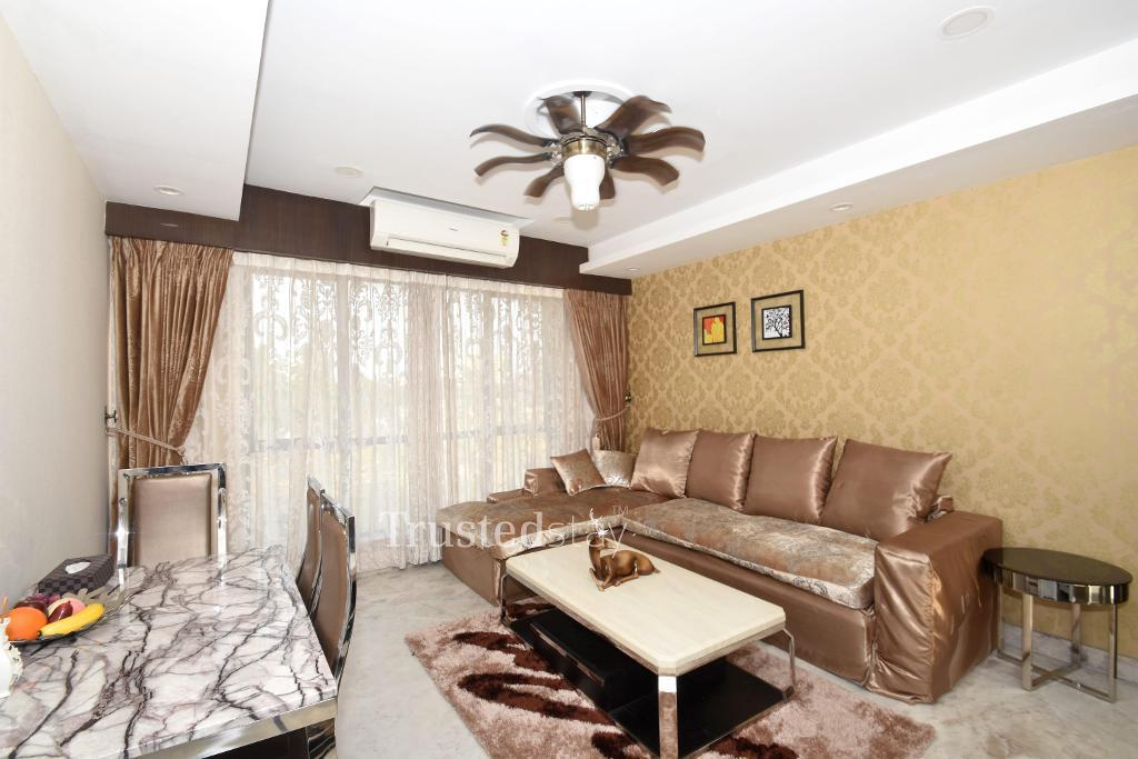 Living Area | Service Apartment in New Town, Kolkata