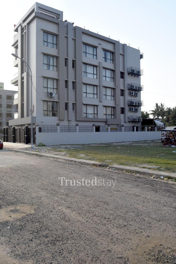 Exterior View | Trustedstay service apartment in New Town, Kolkata
