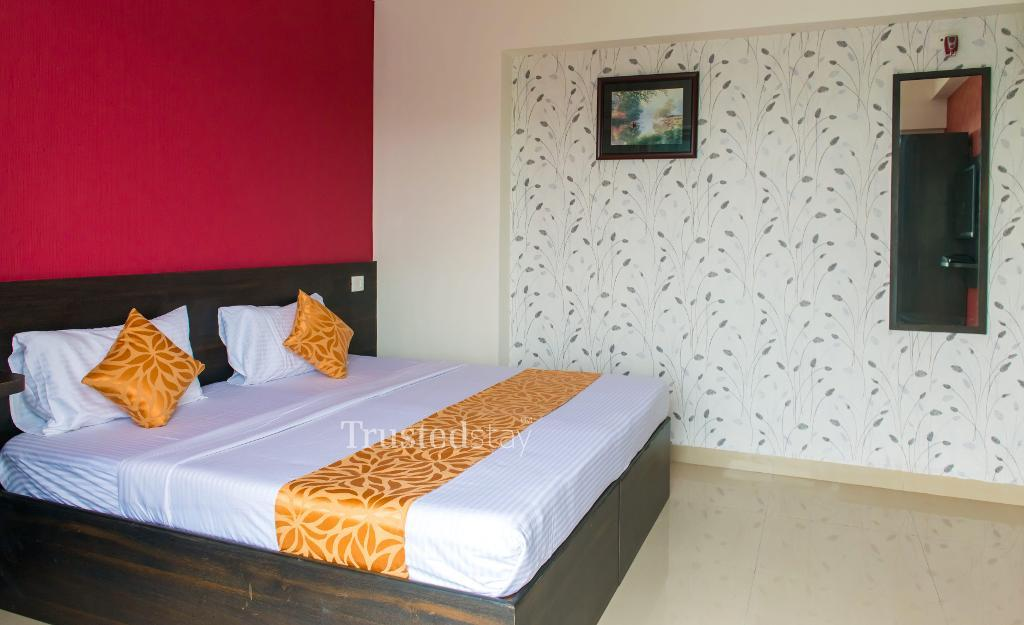 Bed Room | Service apartments in Navi Mumbai