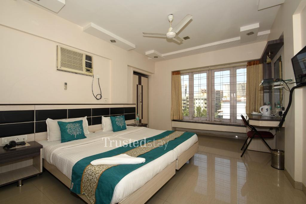Bed room |  Fully furnished Service apartments in Andheri East, Mumbai