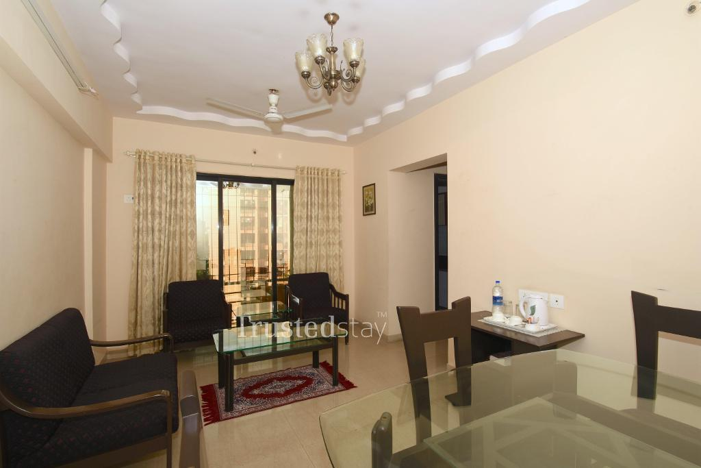 Living Area | Budget accommodation in Andheri East, Mumbai