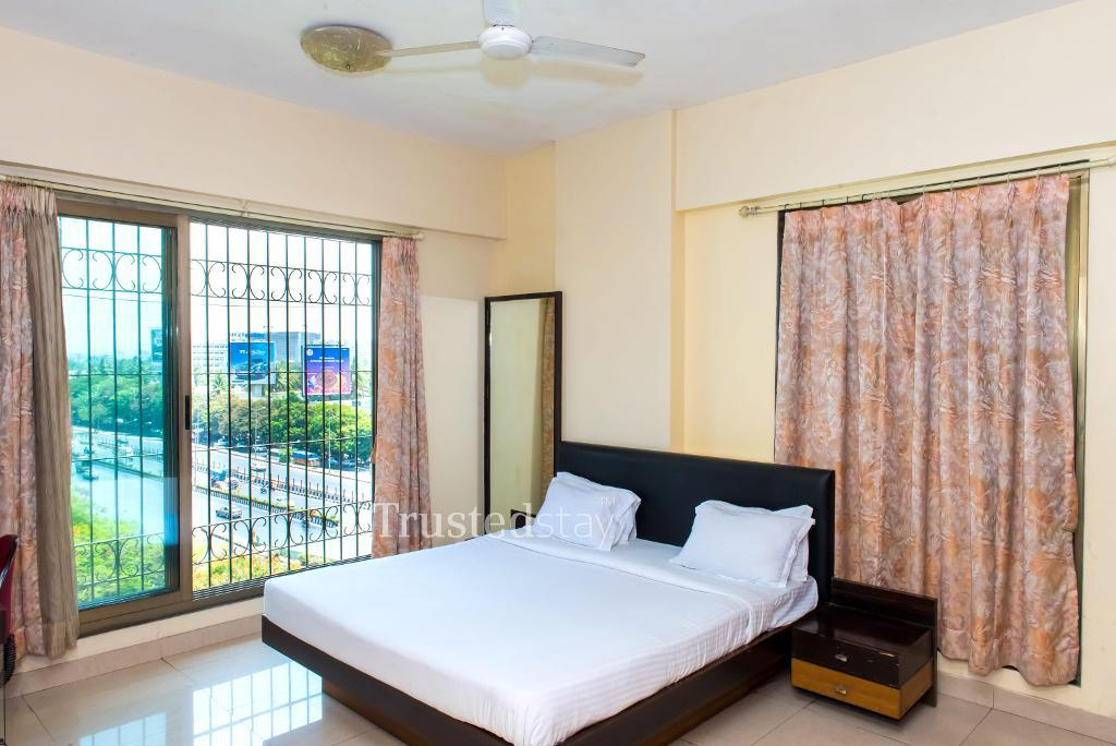 serviced apartments in Bandra, Mumbai | Bedroom