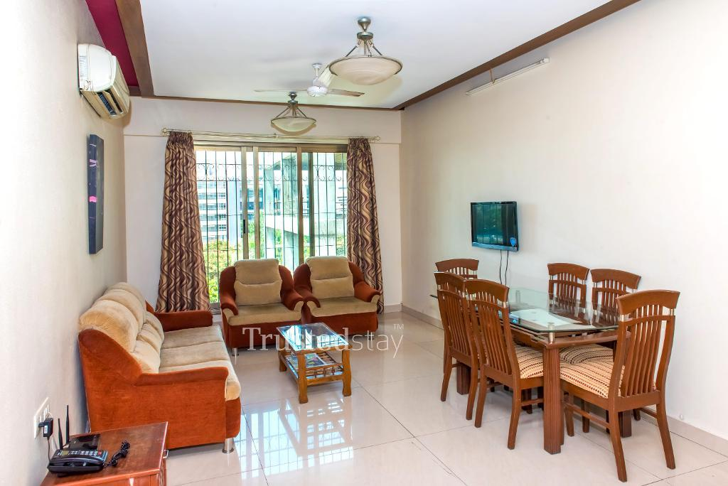 Living area | Service Apartments in Mumbai