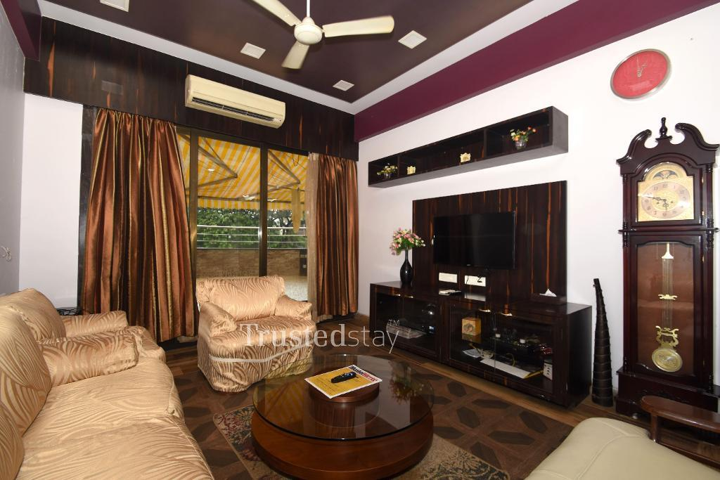 Living area | Service Apartments in Dadar West