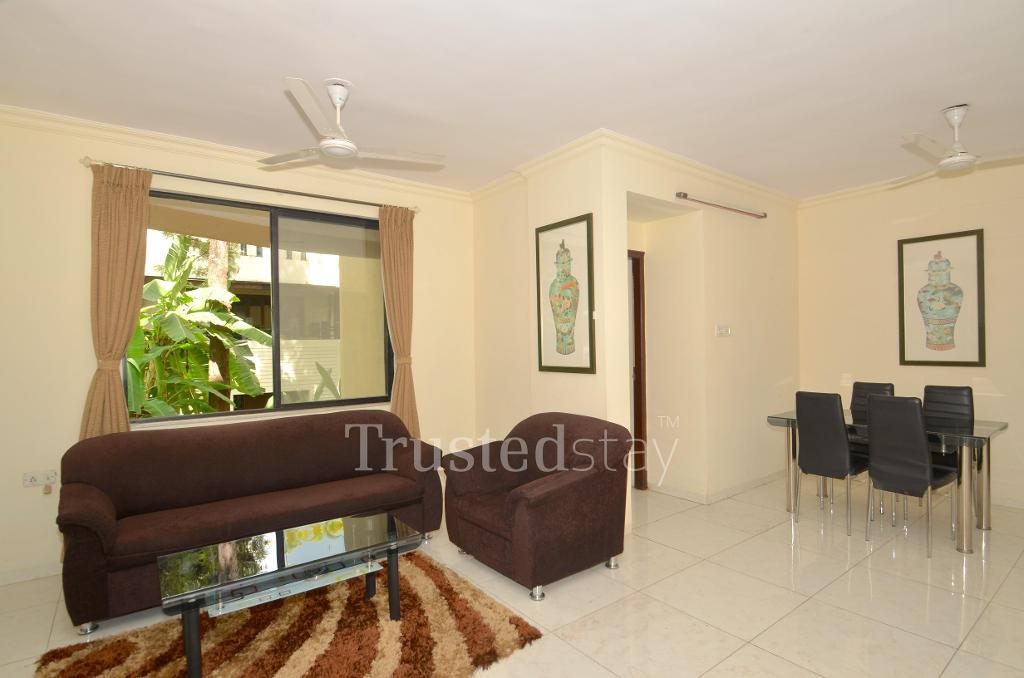 Master Bedroom | serviced apartments in Pune