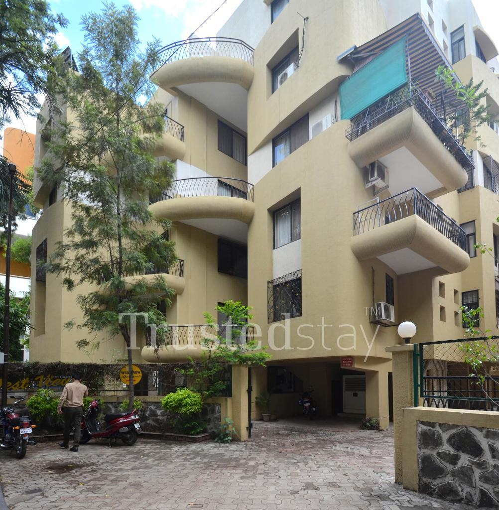 Exterior view | service apartments in Kalyani nagar, Pune