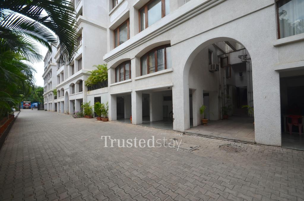 Exterior view | Service Apartment in Pune