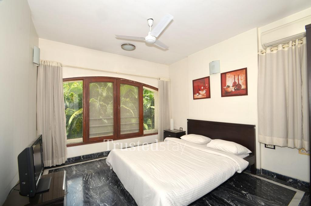 Bedroom view | Budget Service Apartment in Koregaon Park